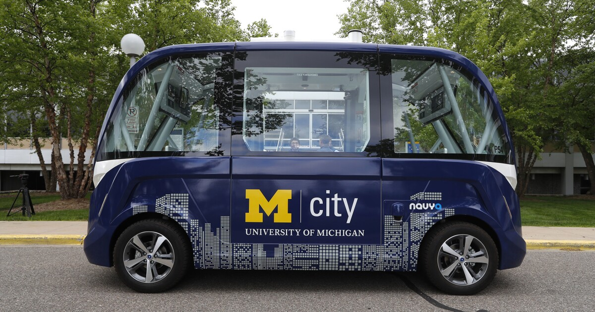 Michigan's future depends on driverless cars — its Senate race will make or break that future