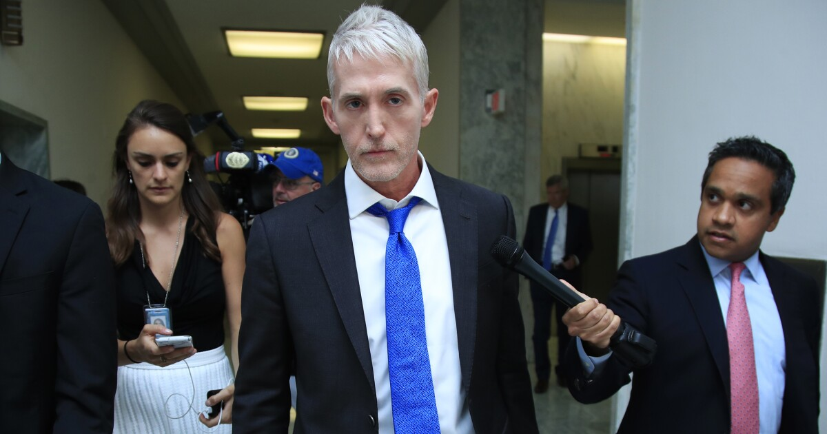 Trey Gowdy: Sources dispute reports that Trump is angry with DNI Joseph Maguire