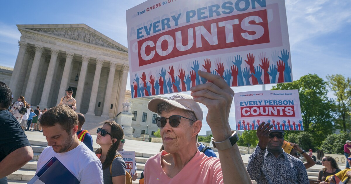 Supreme Court delivers blow to Trump administration in census case