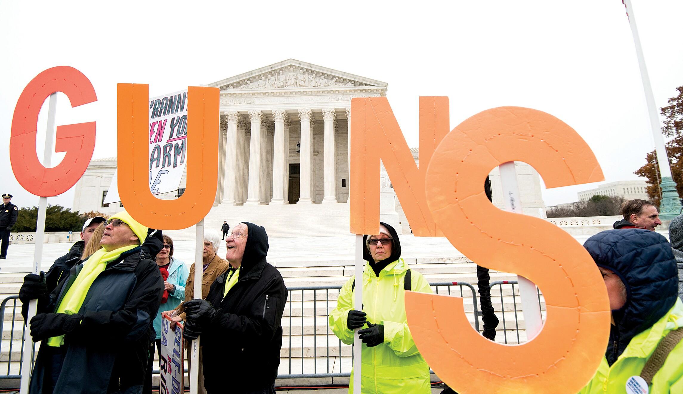 Supreme Court runs away from Second Amendment