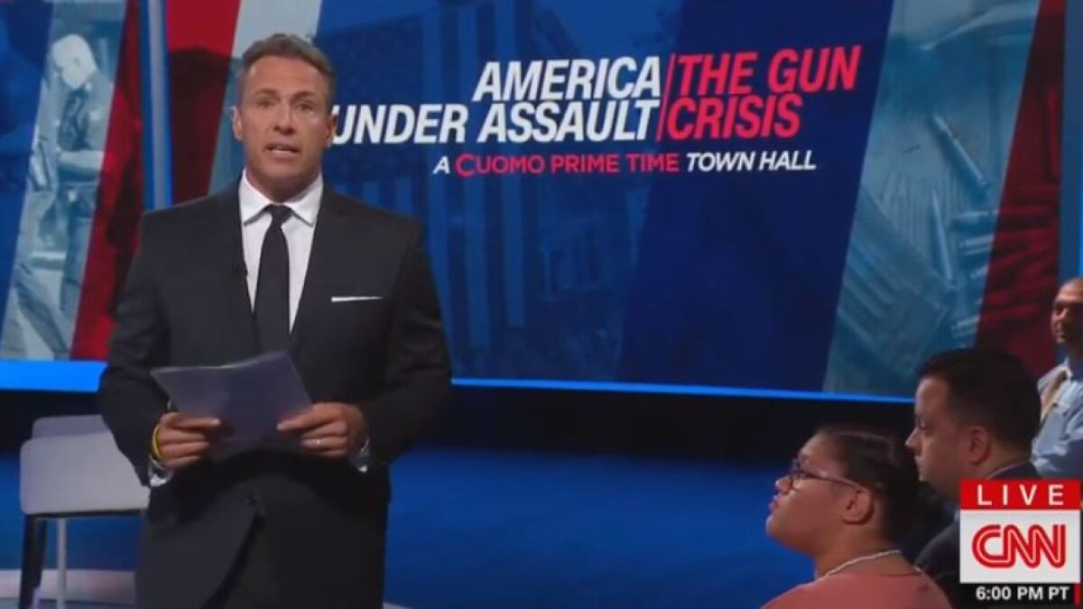 CNN gun town hall trails Fox News and MSNBC in prime-time ratings