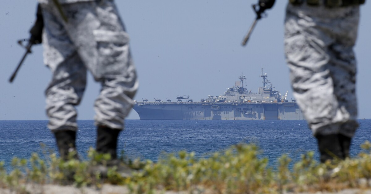 Allies amidships, the US sends a new signal to China