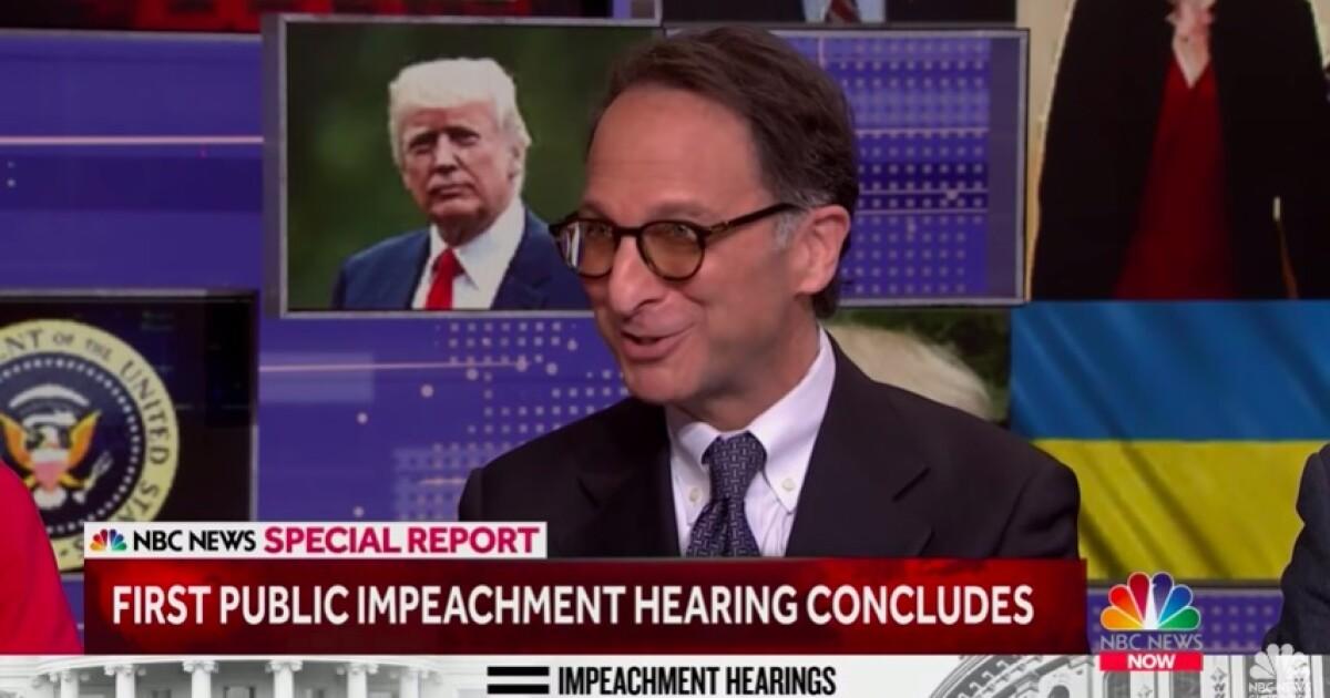 Top Mueller prosecutor Andrew Weissmann offers impeachment advice to Democrats