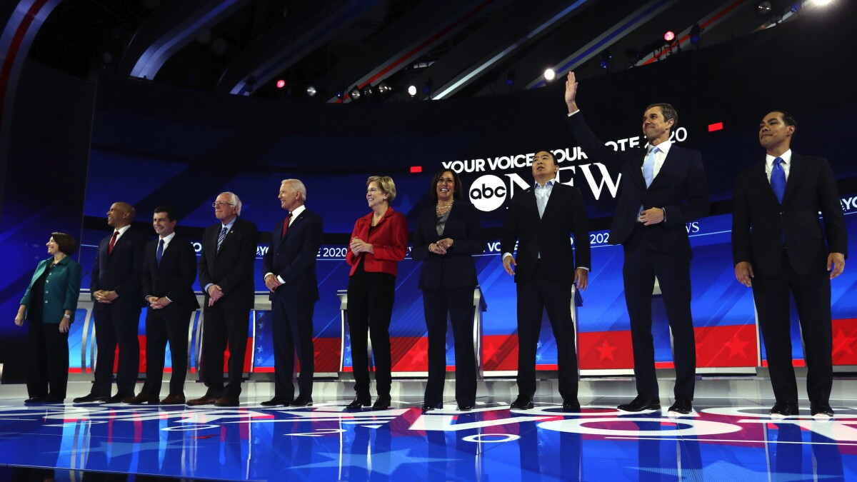 Half of Democratic debate stage has yet to commit to MSNBC climate forum