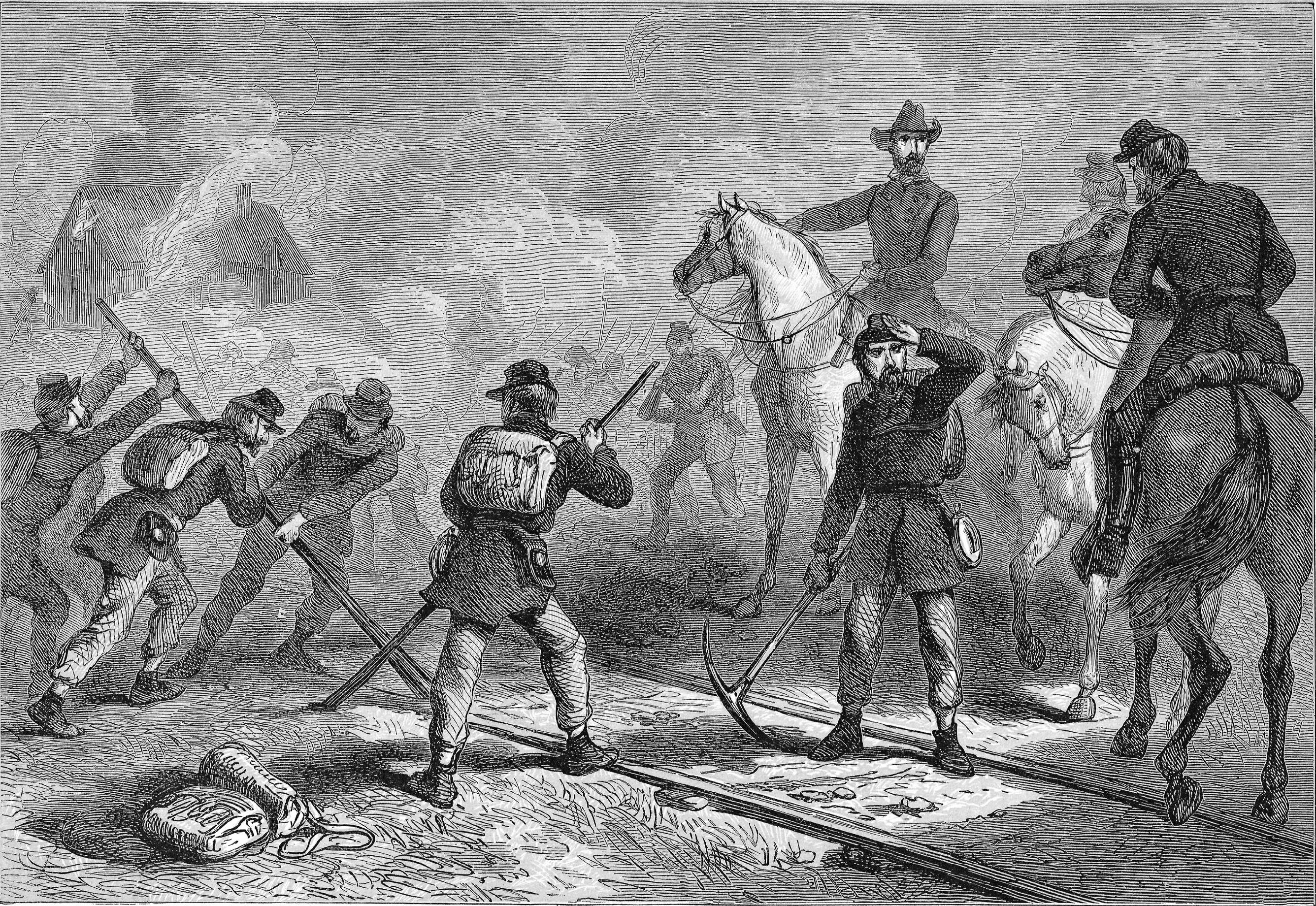 Sherman's march to the sea: Total impact warfare