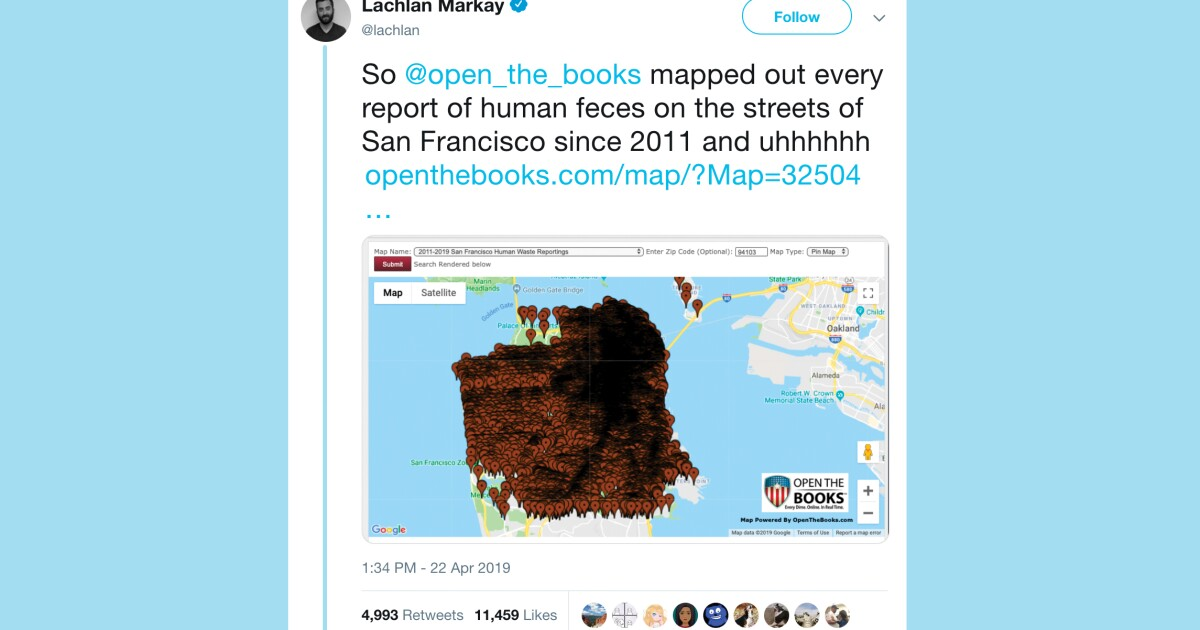 Where The Streets Are Paved With Poop