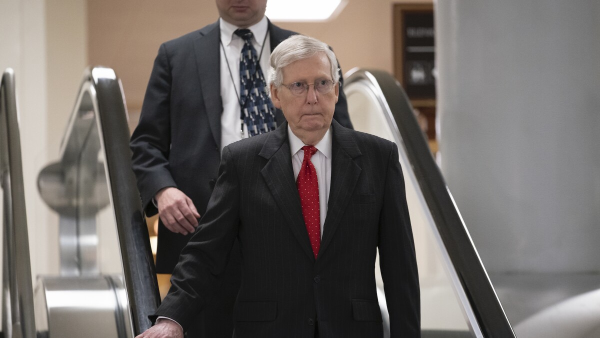 'Gravely concerned': Mitch McConnell slams Trump's Syria troop withdrawal