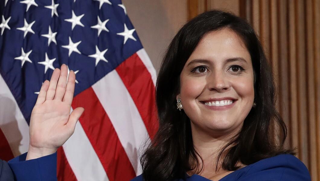 Elise Stefanik is pushing fellow Republicans to confront the party's woman problem