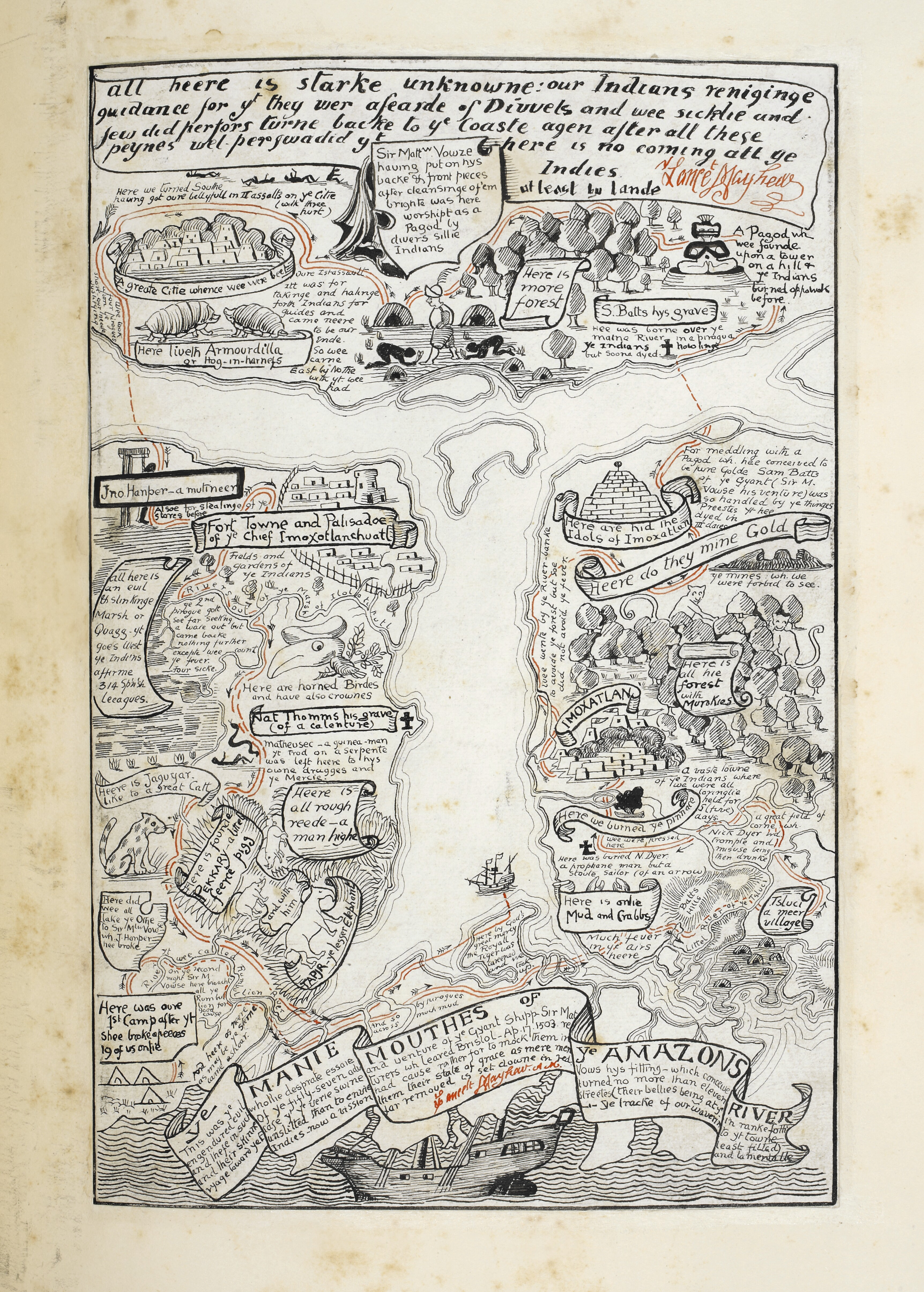 A map made by Rudyard Kipling
