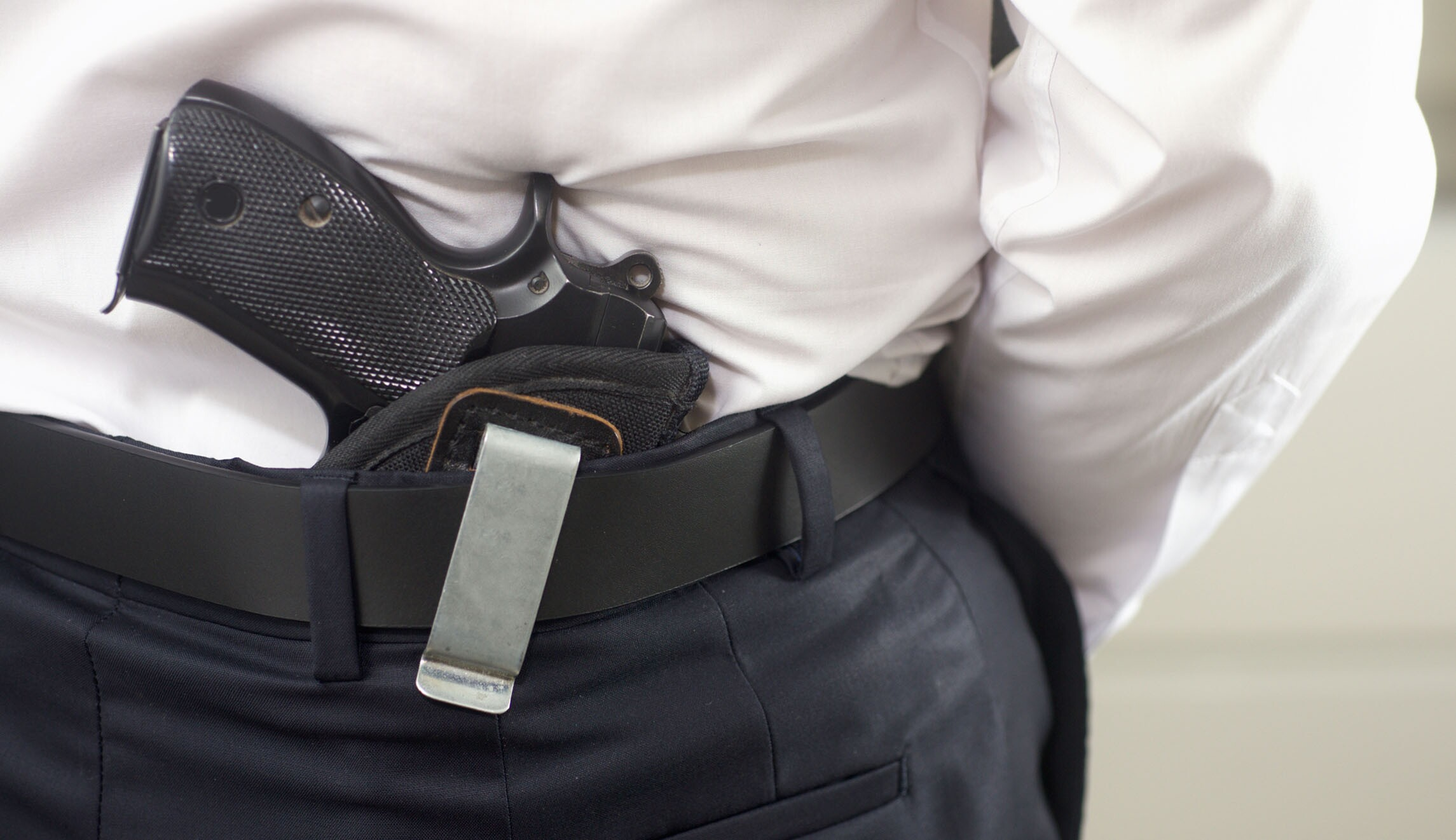 why should teachers carry guns in As he puts it, teachers should be able to carry guns because we have rural schools that are 30 miles away from law enforcement, so we are trying to address the response time [to a potential shooting.