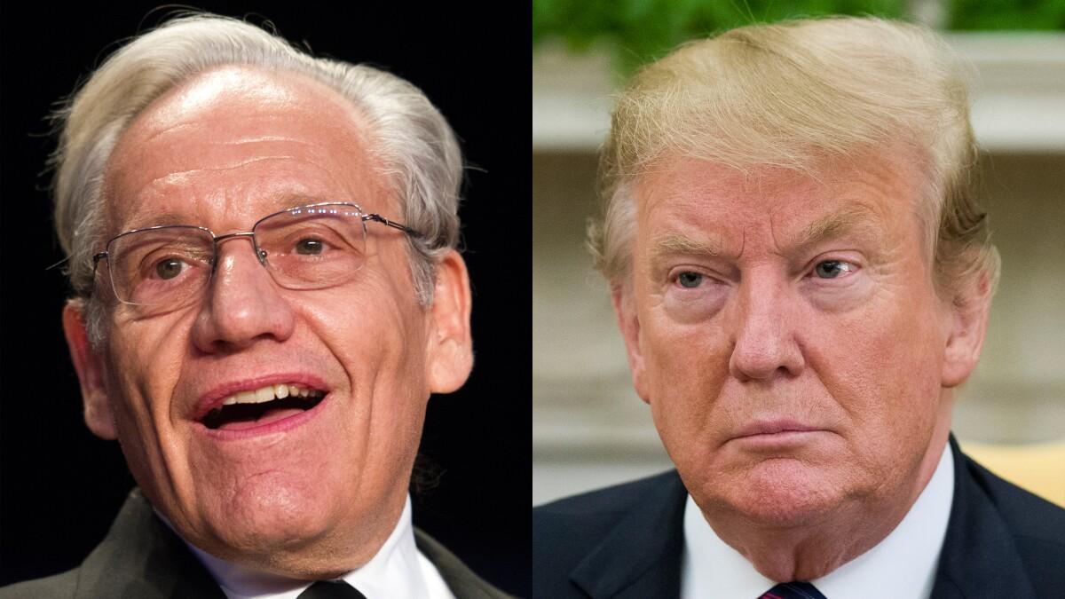 Bob Woodward writing Trump administration sequel to 'Fear'