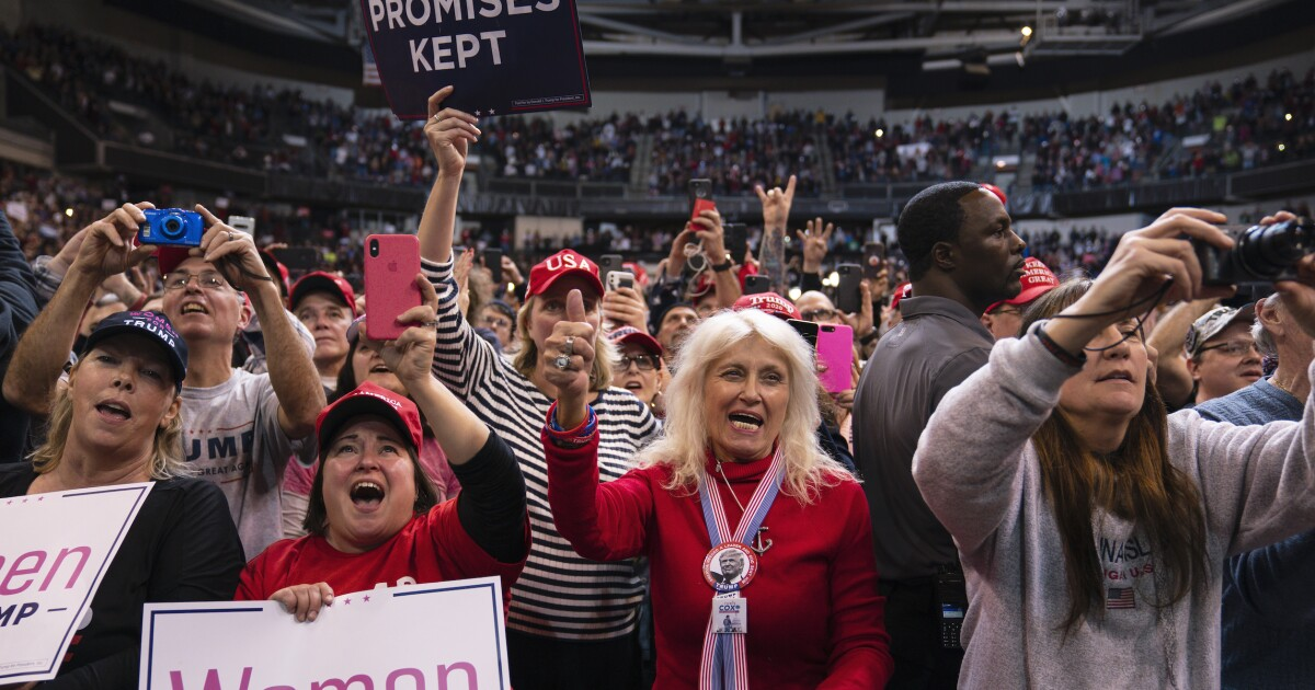 Trump 2020 off to a roaring start while Democrats growl at each other