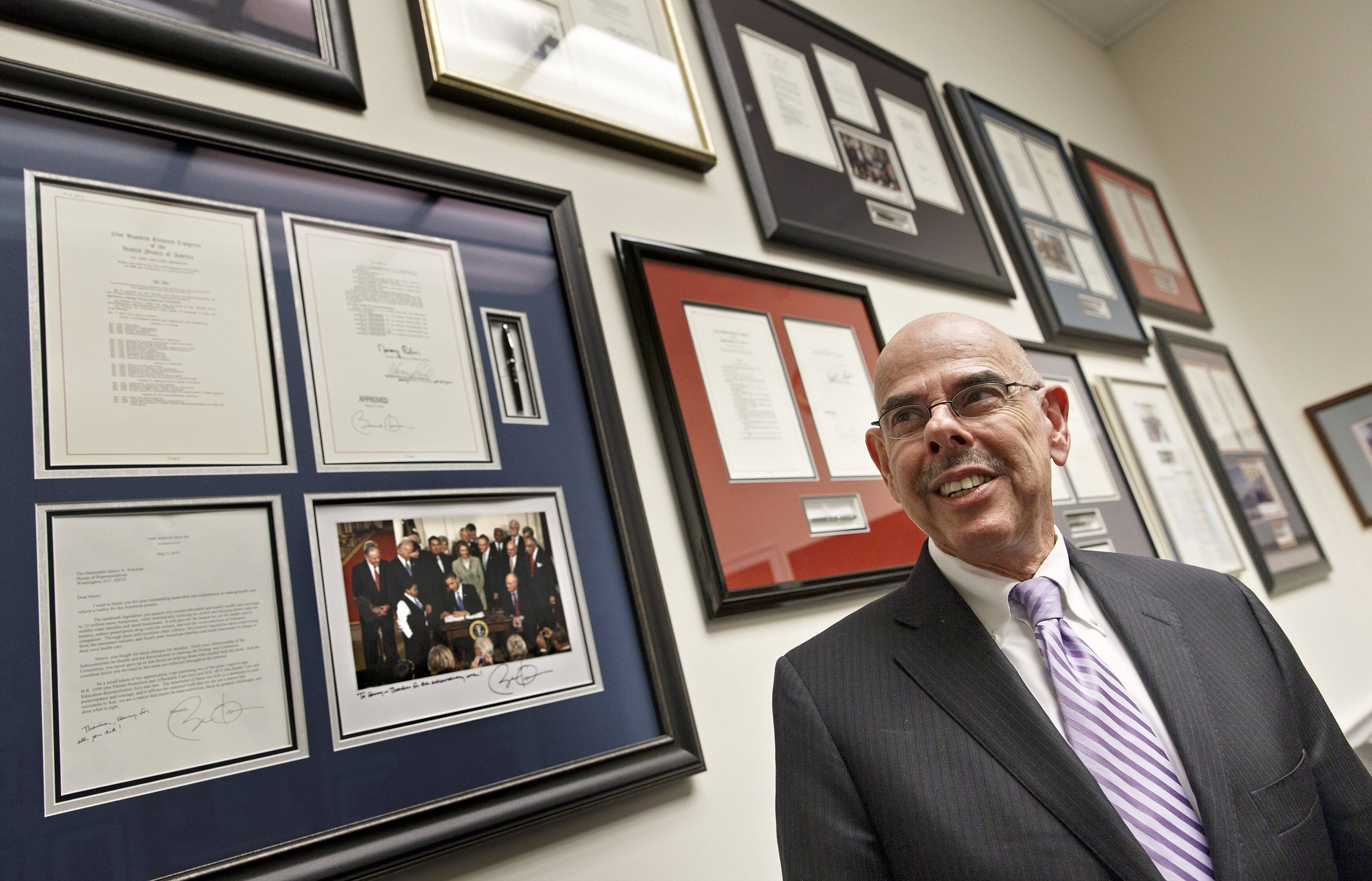 Retirement of Rep  Henry Waxman leaves climate void