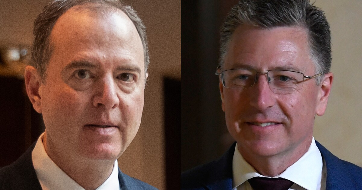 Image result for Schiff pushed Volker to say Ukraine felt pressure from Trump