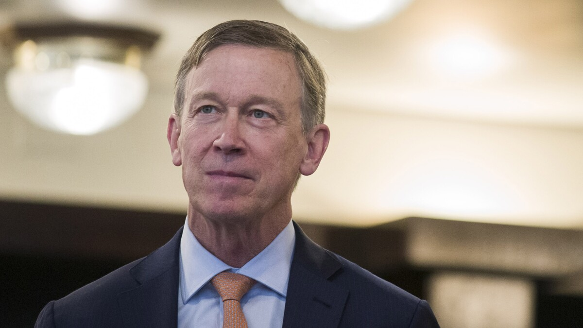 Hickenlooper was too rational for today's Democratic extremists