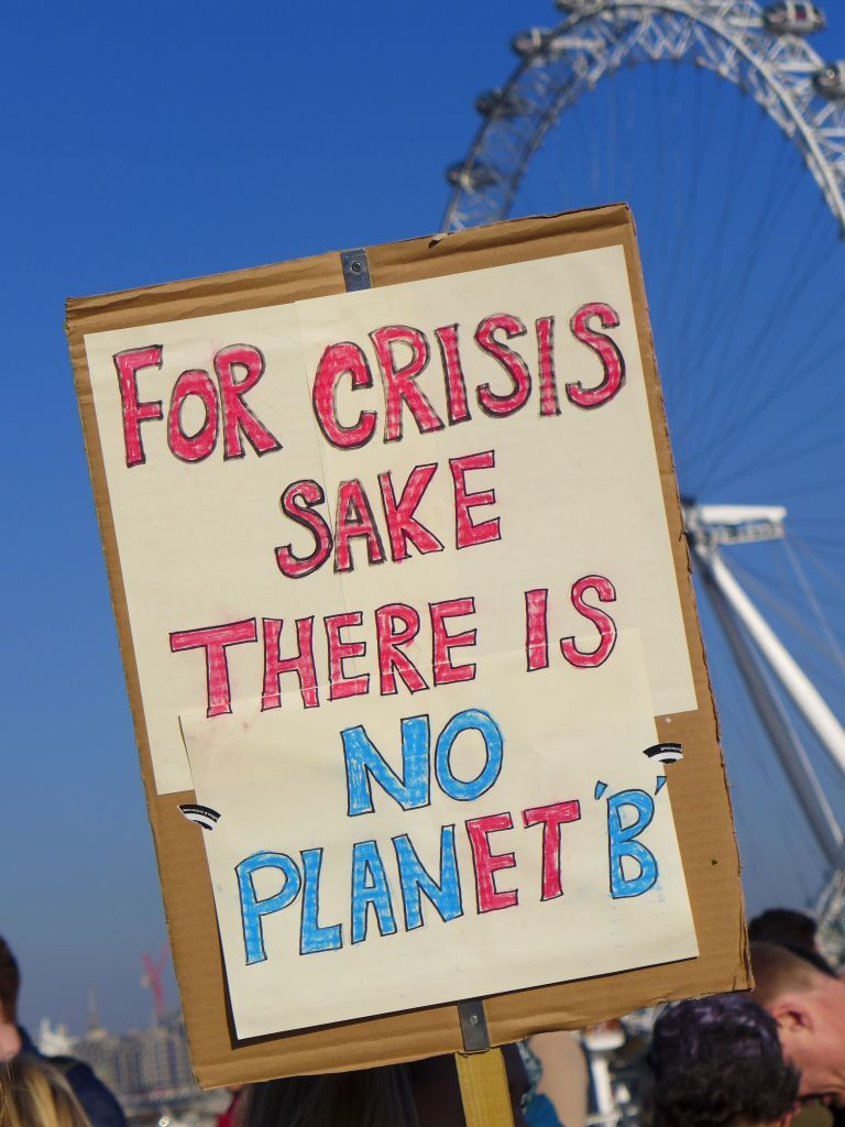 Climate Activists Protest In London