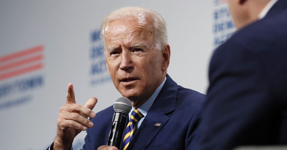 Anti-Biden billboard angers local residents who are calling for 'vulgar' sign to be removed