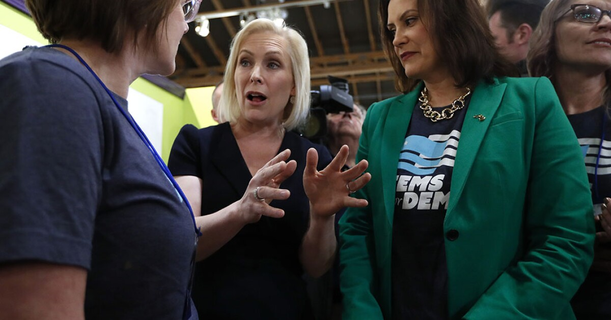 Gillibrand positions herself for New Hampshire primaries with opioid bill