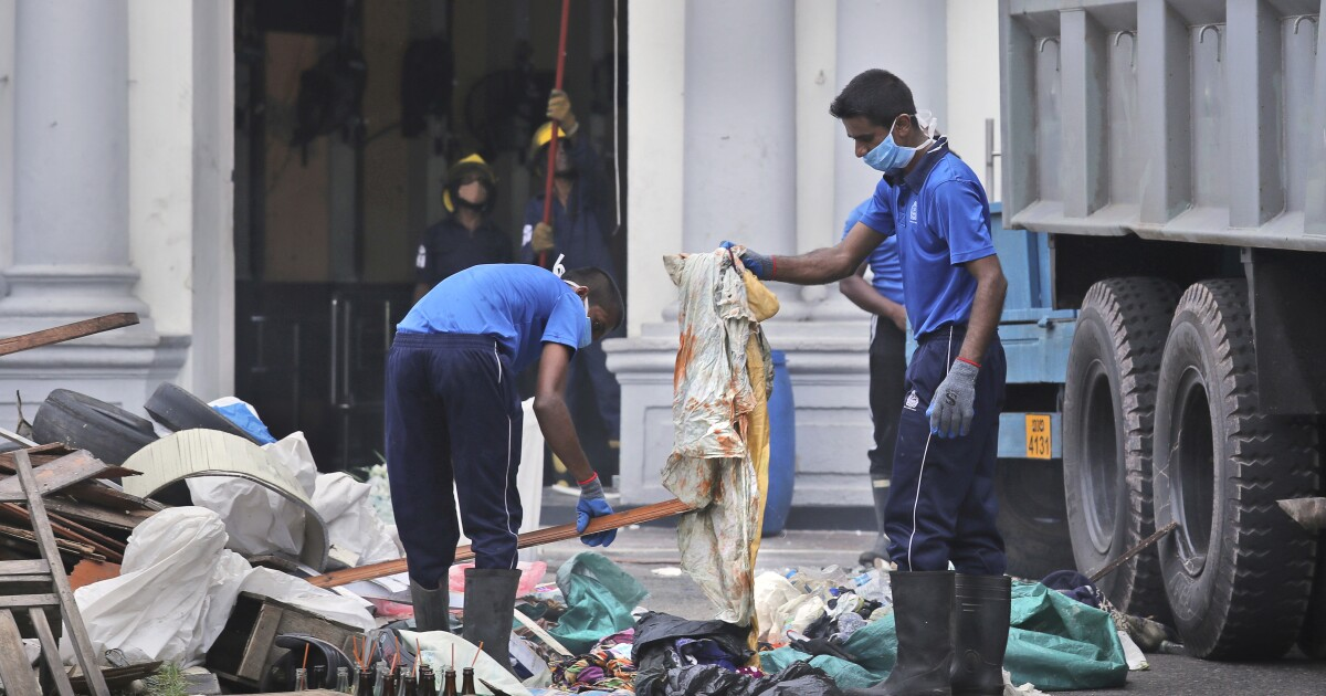 Sri Lanka bomber trained in Syria with ISIS