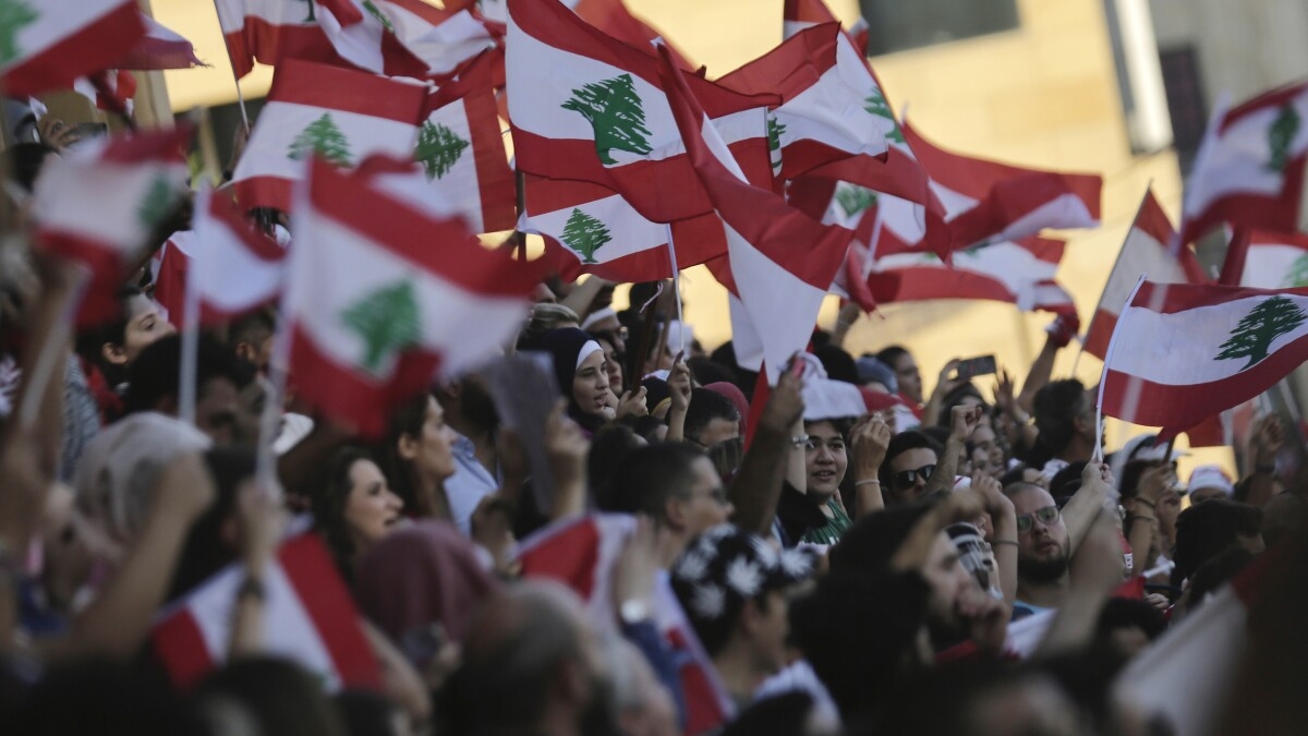 What's behind Lebanon's protest earthquake