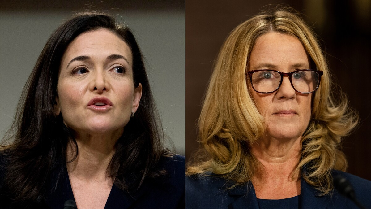Silicon Valley heavyweights quietly aided Kavanaugh accuser Christine Blasey Ford: Book