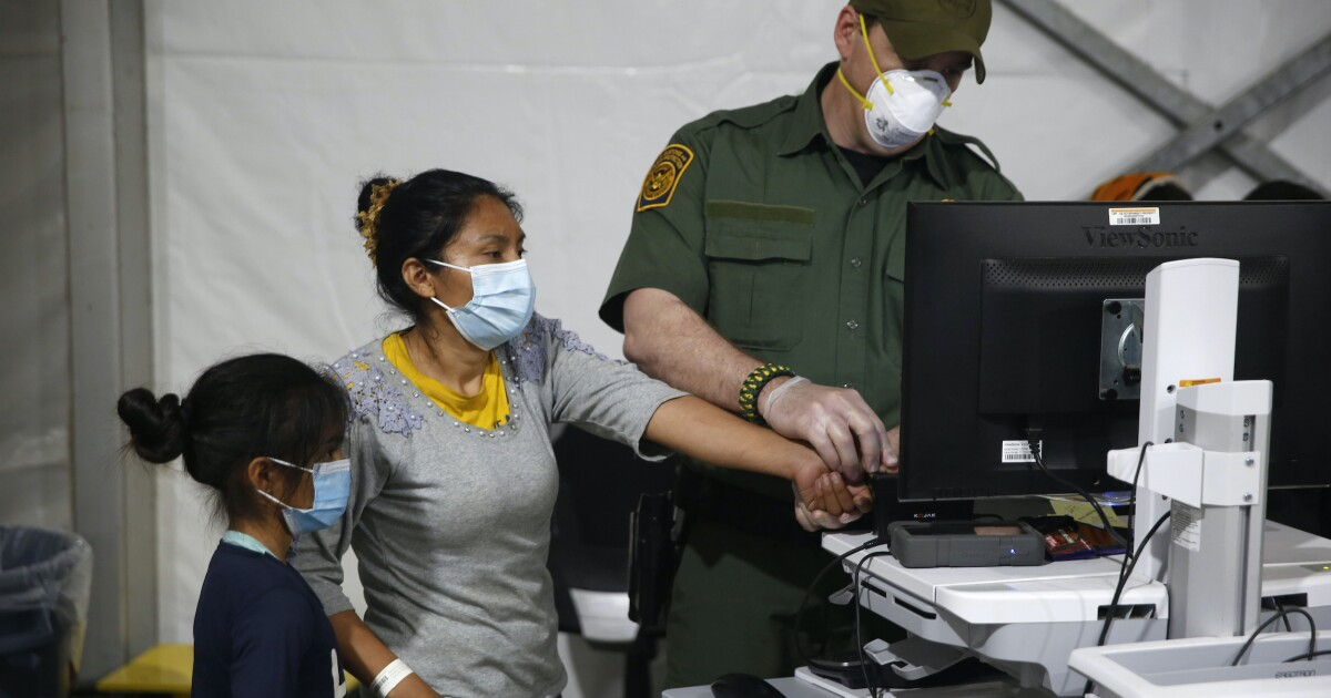 Border agents performing fewer DNA tests to catch fake families under Biden