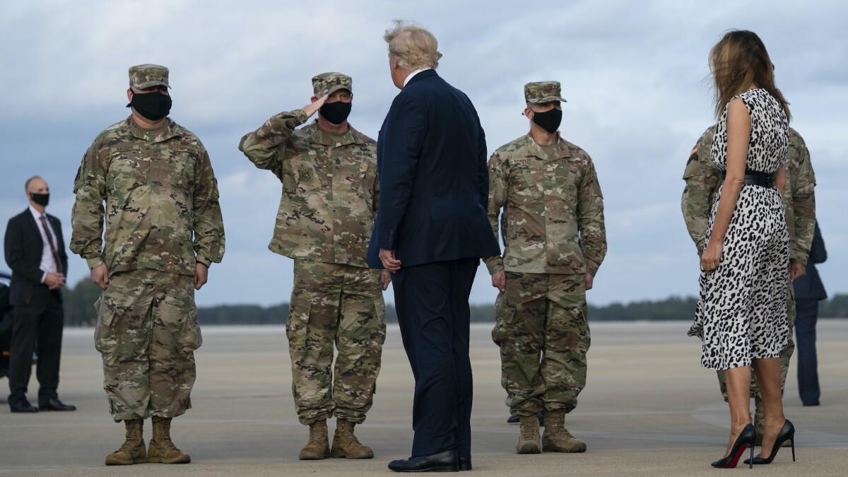 Trump awards citation to military unit responsible for raid that killed ISIS leader al Baghdadi