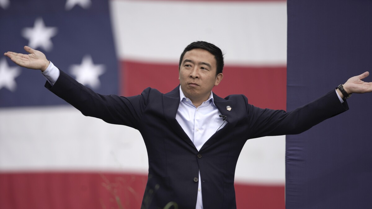 Andrew Yang says 'fourth industrial revolution' elected Trump