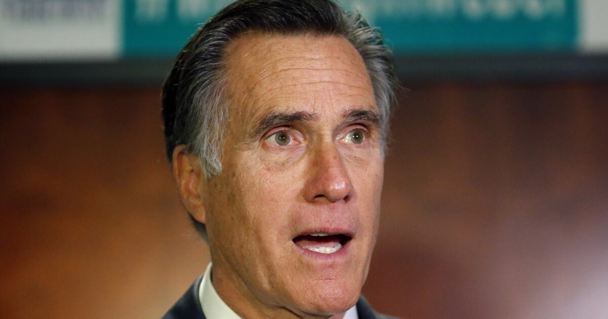 Romney unsure he'll vote for Trump, but he's against impeachment