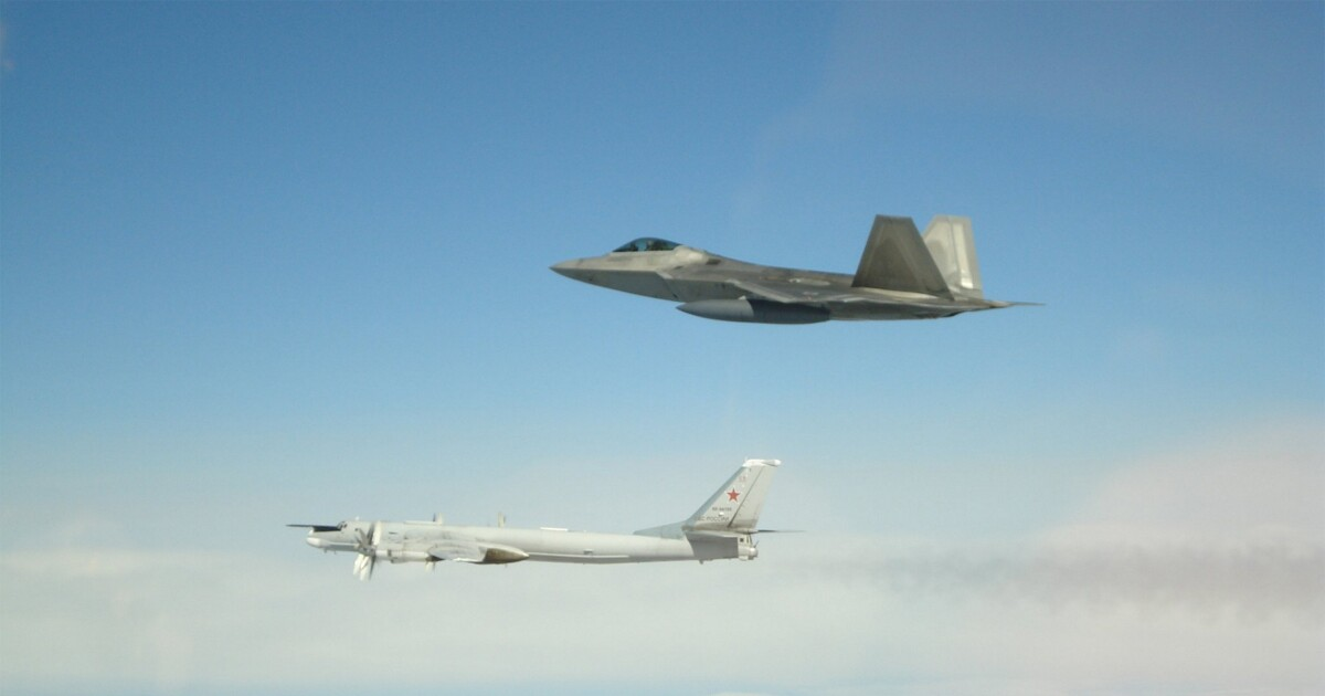 America reminds Russia who owns Alaskan skies