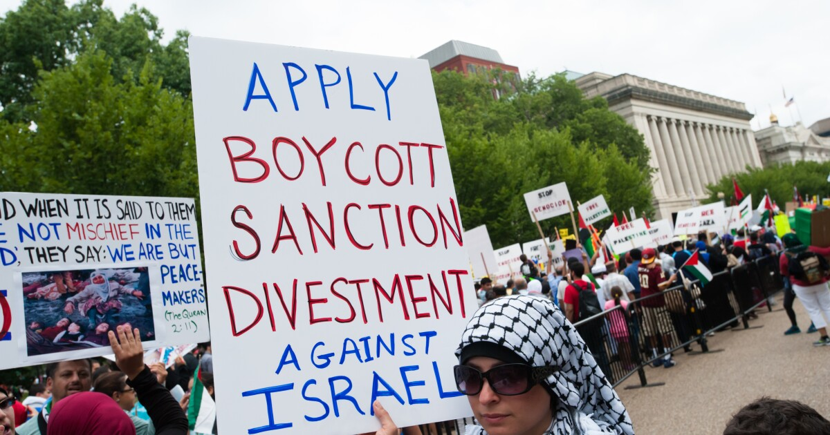 Hold BDS accountable for anti-Semitism on campus