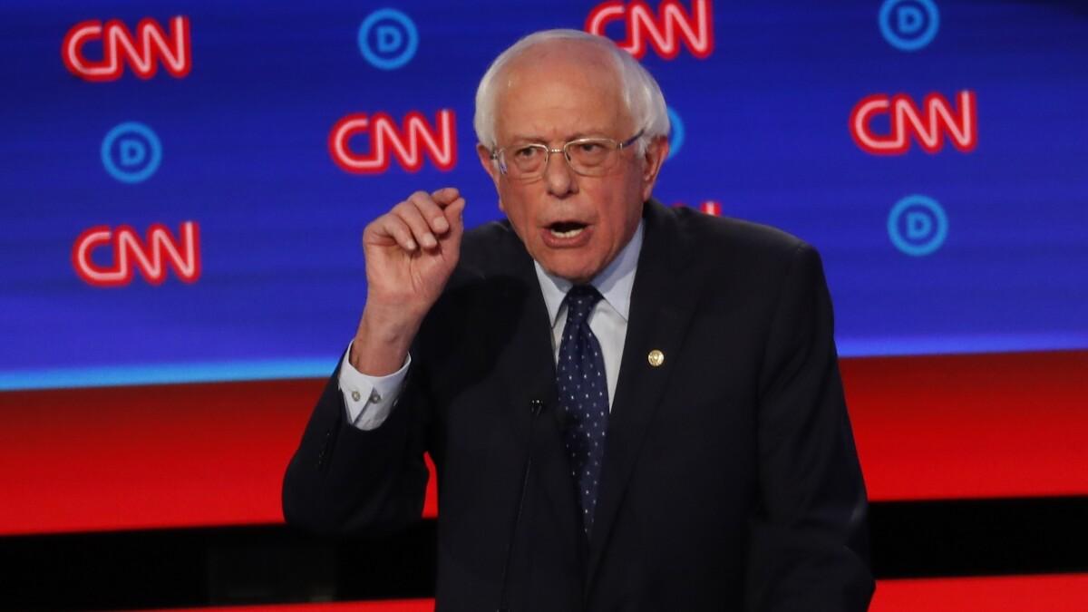 Bernie Sanders snaps at Kamala Harris over 'Medicare for All' flip-flop