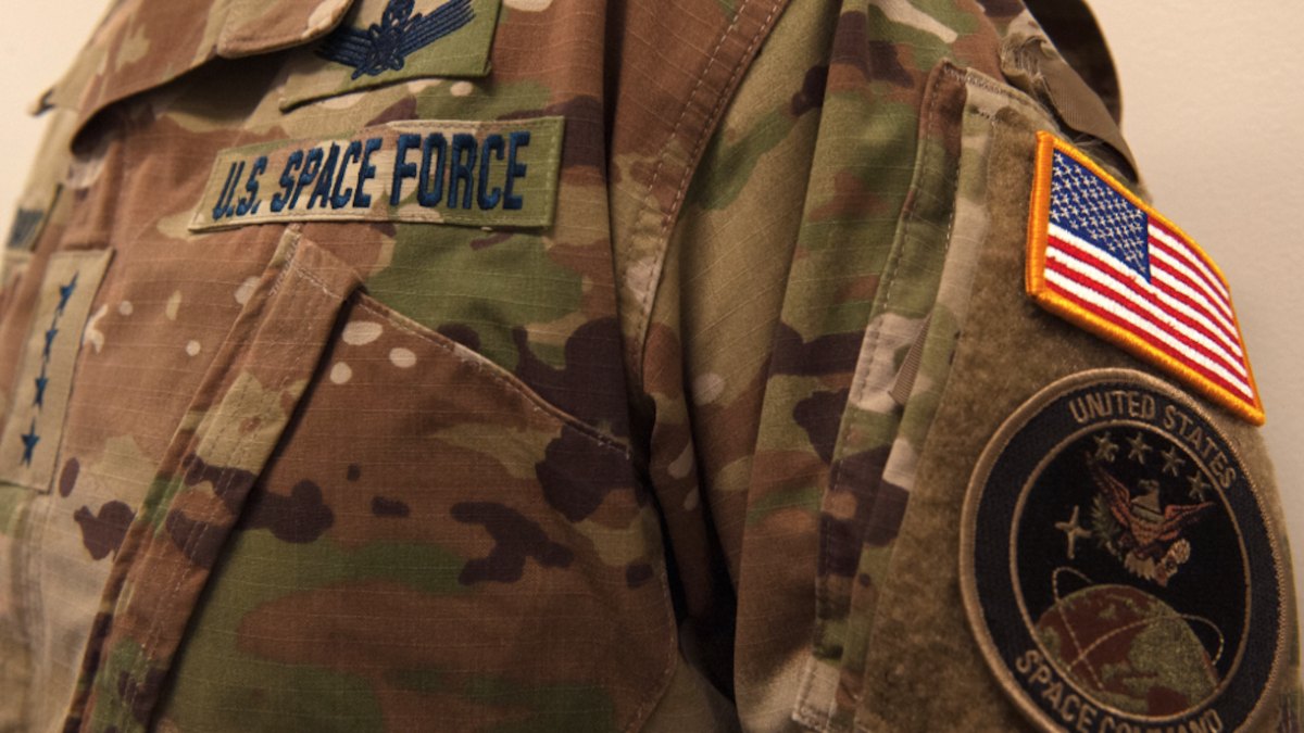 Space Force offers first look at service uniforms