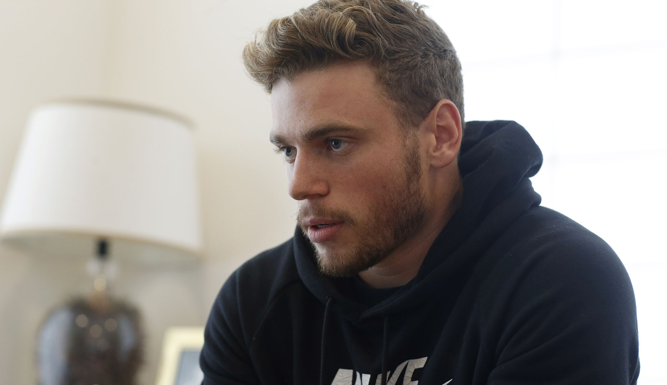 Gay US Olympic skier says silver lining of broken thumb is he can
