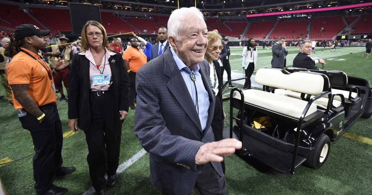At 94 years and 172 days old, Jimmy Carter becomes oldest living president in US history