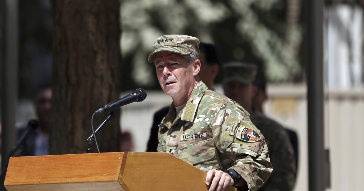 Taliban say they were trying to assassinate top US general in shooting that took out Afghanistan leaders