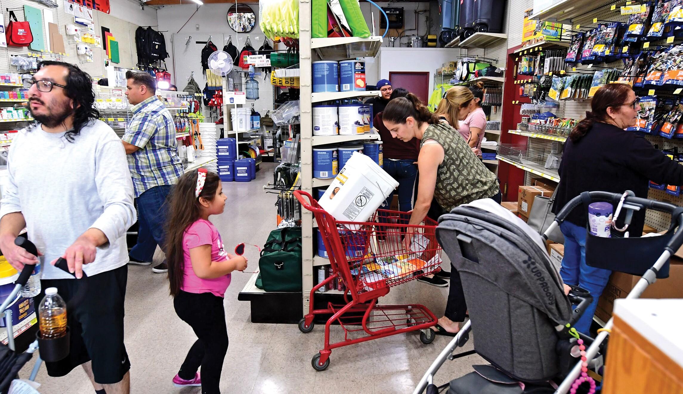 California quakes drive emergency supply sales