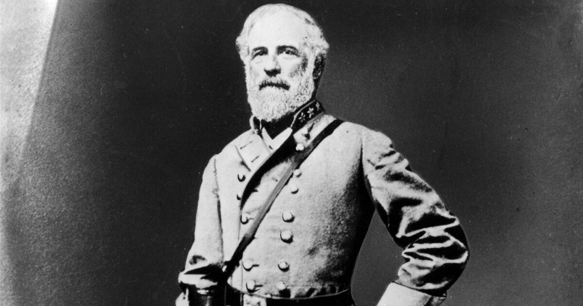 Robert E. Lee was a traitor and a great general