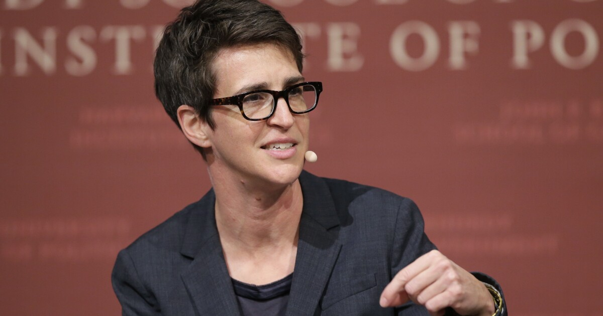'Probably nobody': Rachel Maddow says Democratic nominee winning over anti-Trump Republicans unlikely