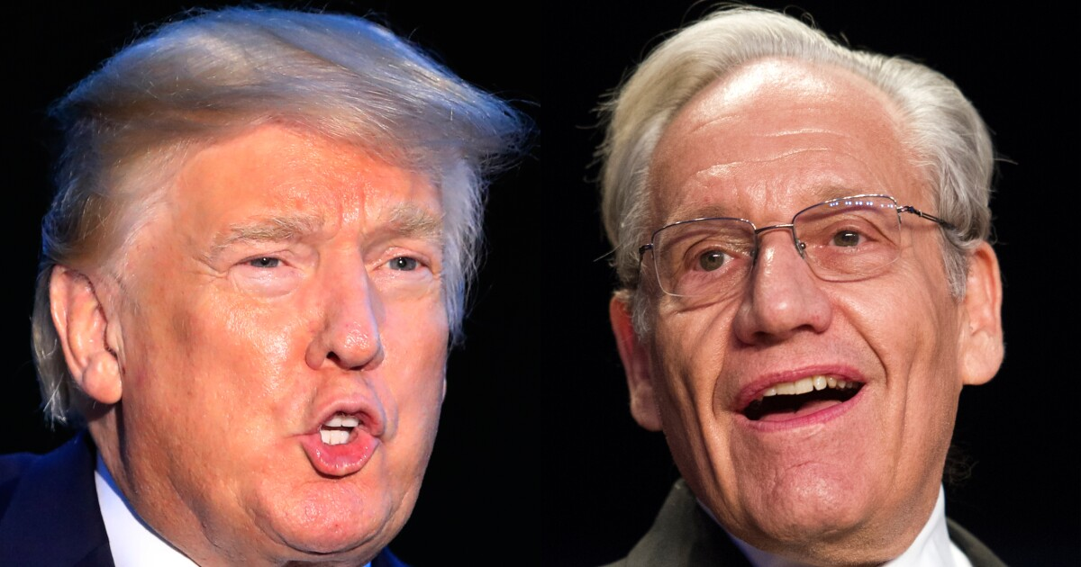 Bob Woodward releases taped conversations with Trump discussing Supreme Court