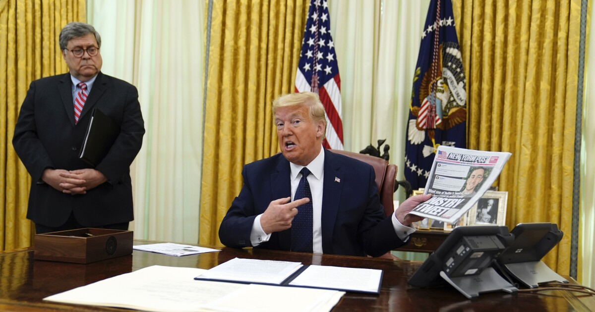 Trump expresses willingness to shutter social media...