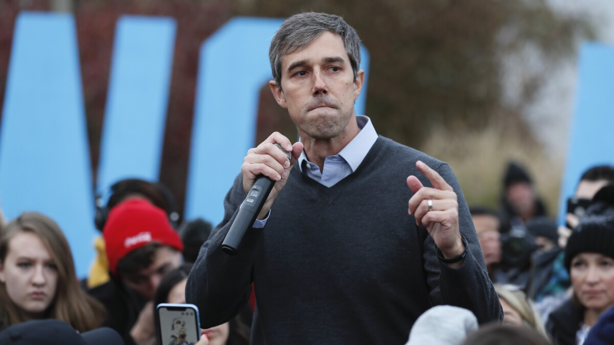 'I thought it was going to be a party': Weeping O'Rourke supporters caught off guard by end of campaign