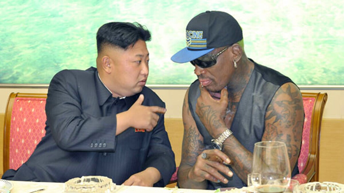 Dennis Rodman says he guarantees Kim Jong Un will be in the US within two years