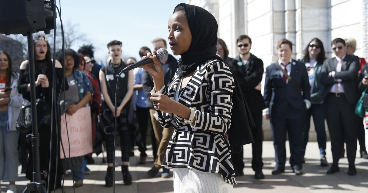 Ilhan Omar joins Black-Jewish Caucus by blasting founding Rep. Lee Zeldin's 'bigotry'