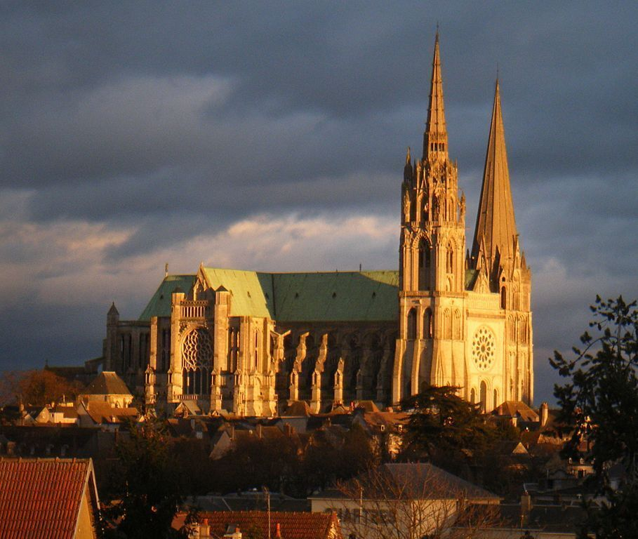 the american hero who saved chartres cathedral. Black Bedroom Furniture Sets. Home Design Ideas