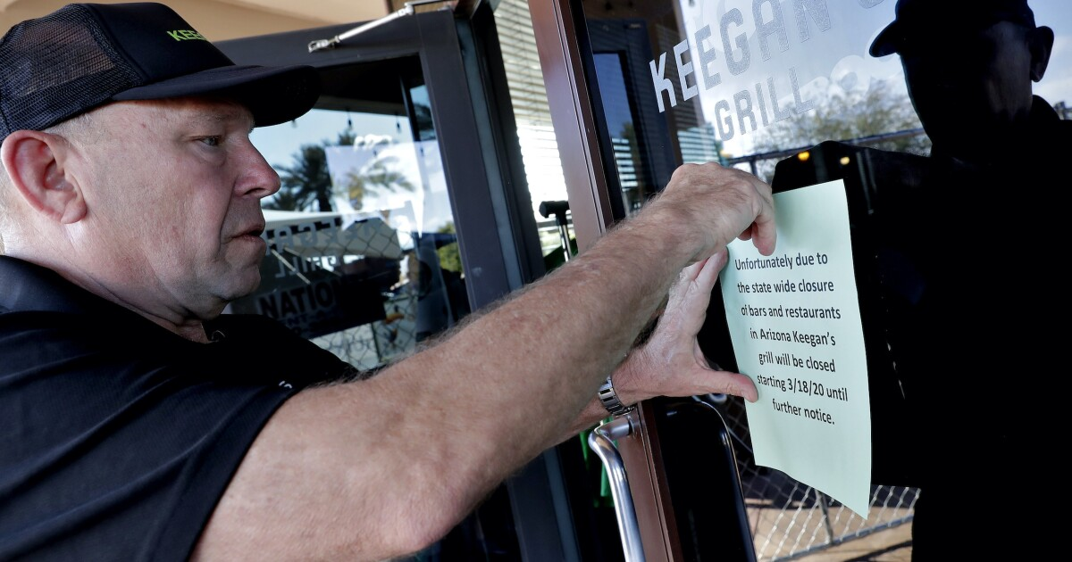 Ducey re-closes bars, gyms, waterparks, theaters amid COVID-19...
