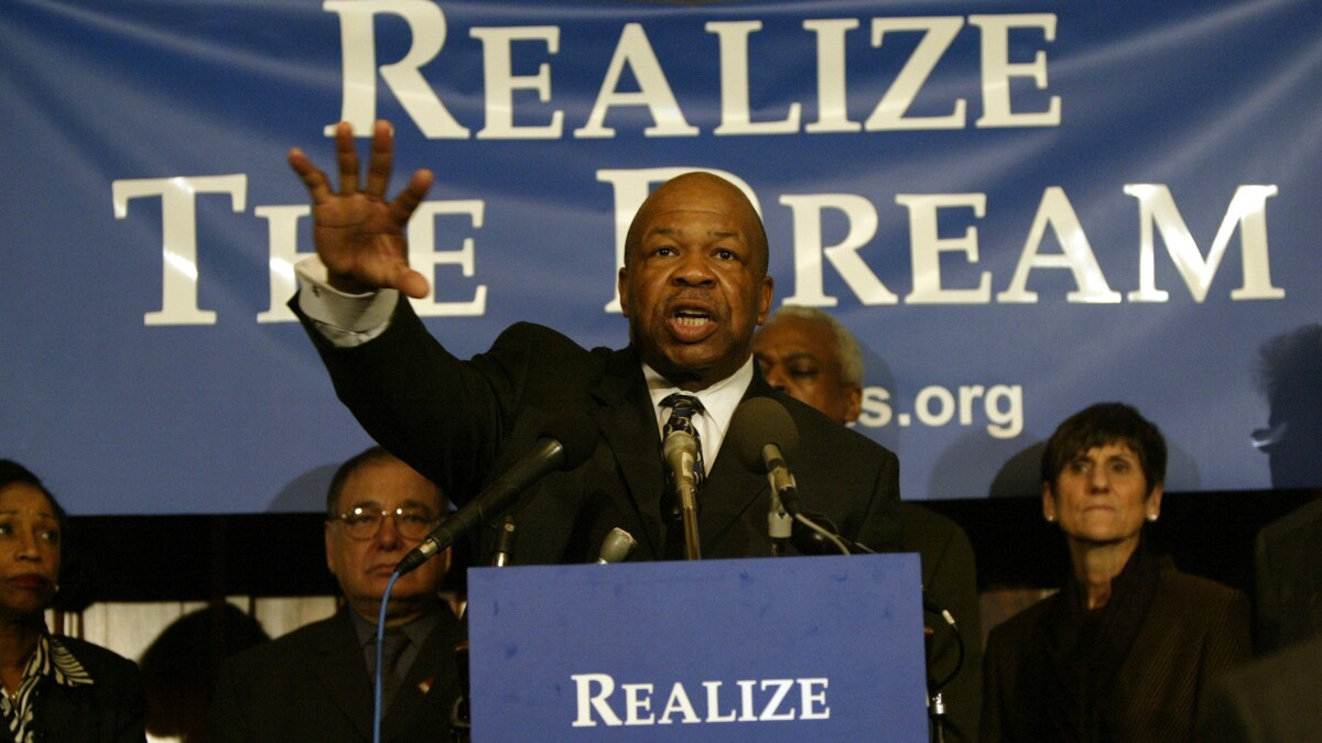 Elijah Cummings to lie in state in US Capitol building
