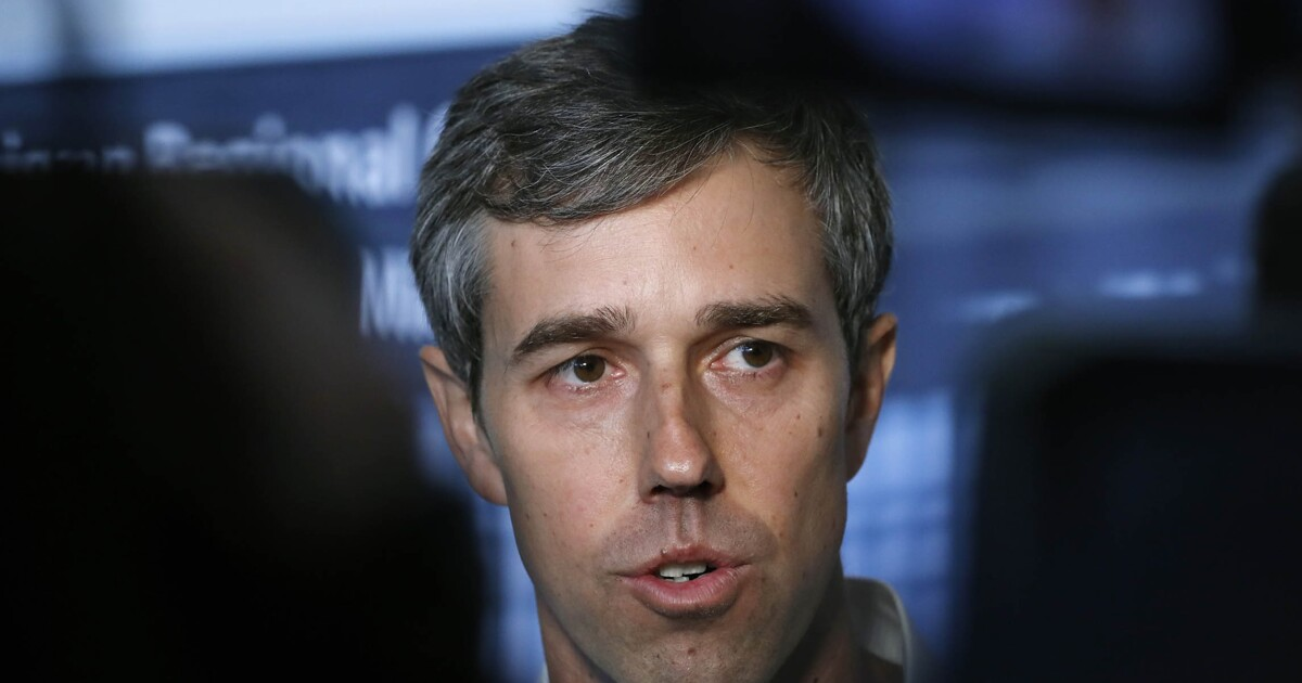 Beto O'Rourke ate dirt after losing to Ted Cruz