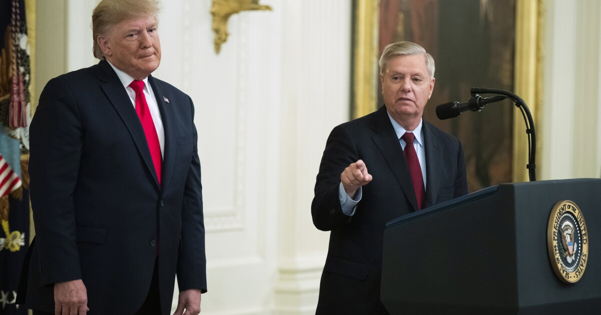 Lindsey Graham admits he is 'not trying to pretend to be a fair juror' on impeachment - Washington Examiner