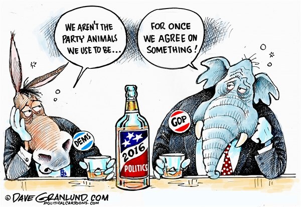 Image result for political cartoons of politicians as animals